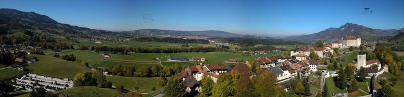le Bourg de la Gruyère (FR)